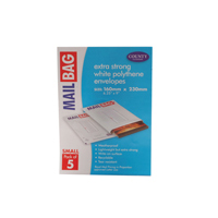 County Small Polythene Envelope (Pack of 50) C260