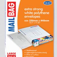 County Large Polythene Envelope (Pack of 50) C262