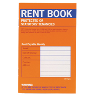 Image for County Protected Tenancy Rent Book (Pack of 20) C235