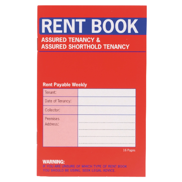 Image for Country Assured Tenancy Rent Book (Pack of 20) C237