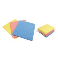 Cellulose Sponges Pk18 Asstd