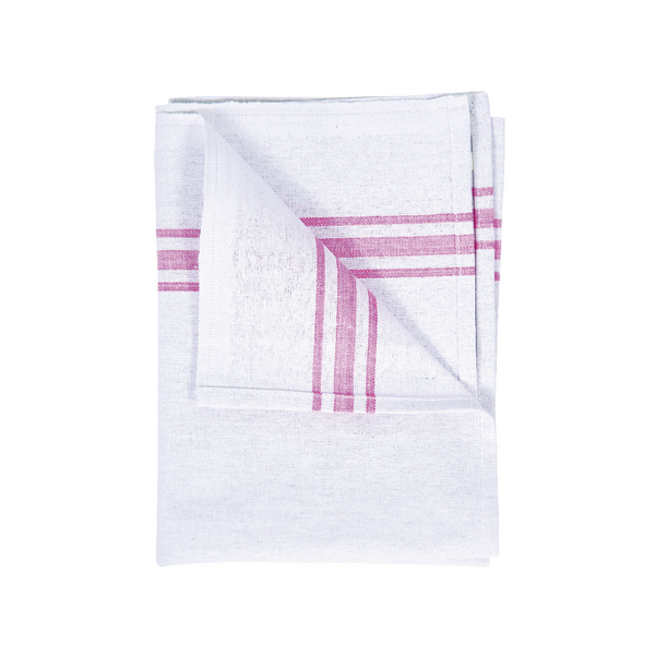 White Cotton Tea Towel 190 x 290mm Pack of 10 102810