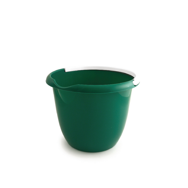 Green Plastic 10 Litre Bucket / Handle