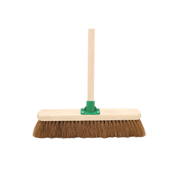 Coco Soft Broom With Handle 18 Inch G.01/Black T/C4