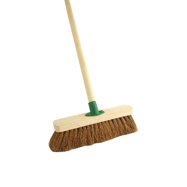 Coco Soft Broom With Handle 12 inch F.01/Black T/C4