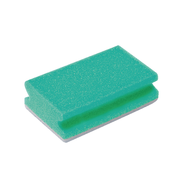 Finger Grip Scourers Green 130x70x40mm (Pack of 10) SPCAGN60I