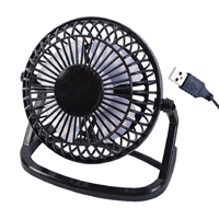 Image for 4 Inch USB Black Desk Fan (Pack of 1) 39020