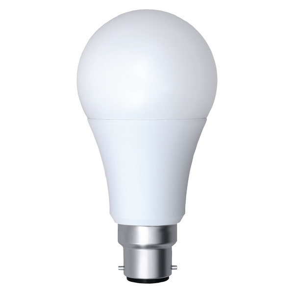 12W BC Opal Dimmable LED Lamp