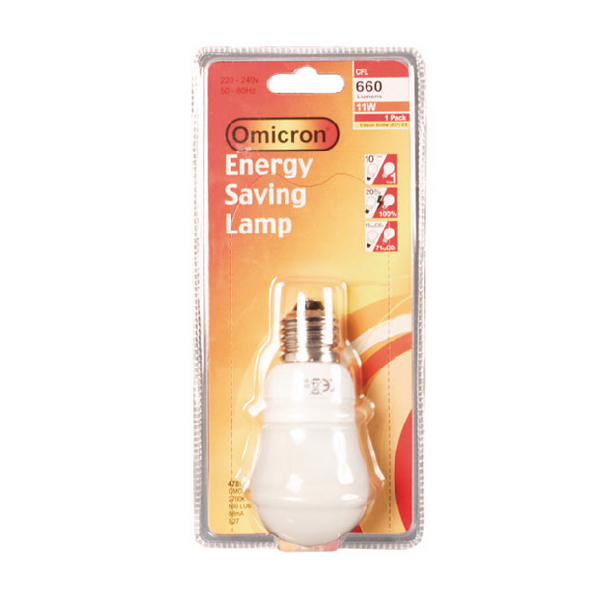 Image for 11W ES Energy Saving Lamp 2700K 660 Lumen 47780