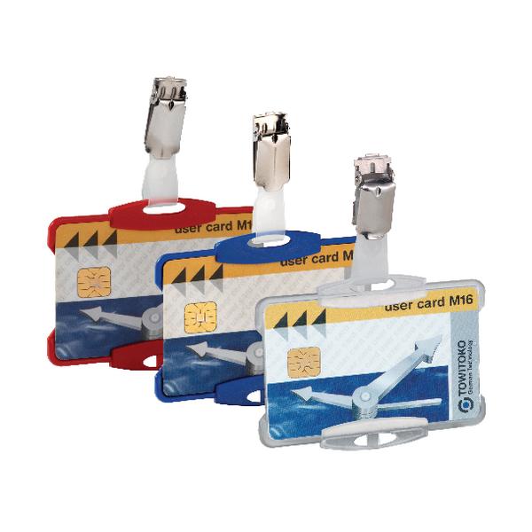 Durable Security Pass Holder Transp Pk25
