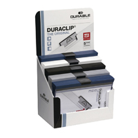 Durable Assorted A4 Duraclip Files (Retail (Pack of 50) 2985/00