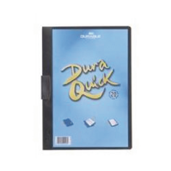Durable Duraquick A4 Black File Pack of 20 2270/01