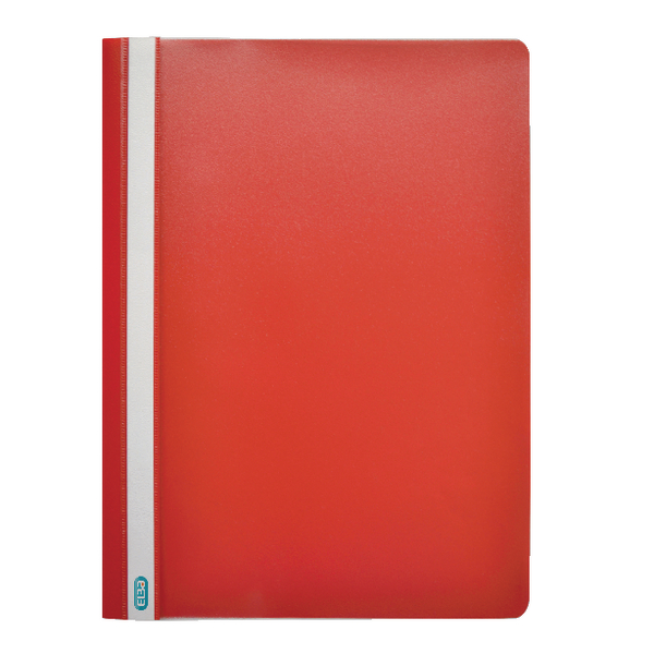 Elba A4 Red Report File Pack of 50 400055034