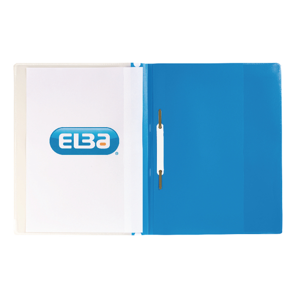 Elba A4 Blue Pocket Report File Pack of 25 400055037