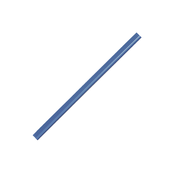 Durable A4 Blue 6mm Spine Bars Pack of 100 2901/06