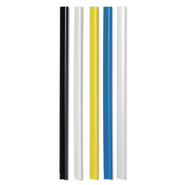 Durable A4 Black 6mm Spine Bars Pack of 50 2931/01
