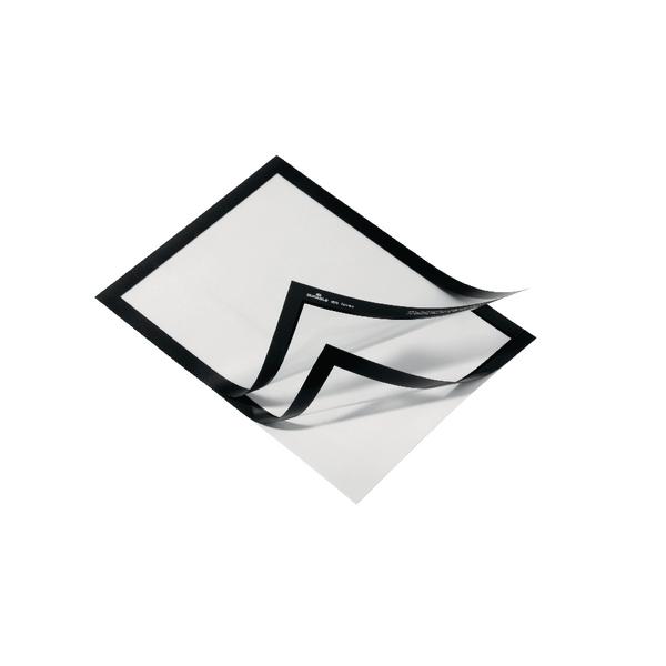 Duraframe A4 Black Magnetic Frame (Pack of 10) 4882 01
