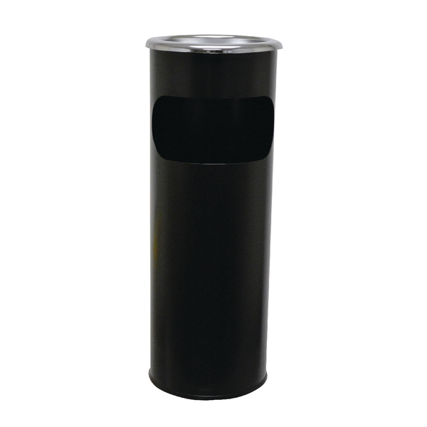 SYR Combi Ash Stand and Bin Black X0086209