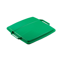 Durable Durabin Green 90 Litre Bin Lid (Pack of 1) 1800475020