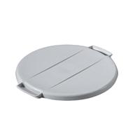 Durable Grey Durabin Round 40 Litre Bin Lid (Pack of 1) 1800520050