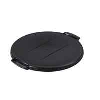 Durable Durabin Black Round 40 Litre Recycling Bin Lid (Pack of 1) 1800520221