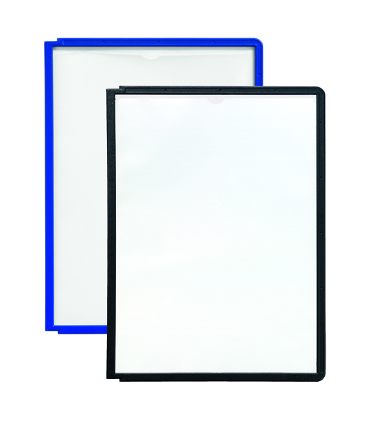 Image for Durable Sherpa Black A4 Display Panel (Pack of 10) 5606-01