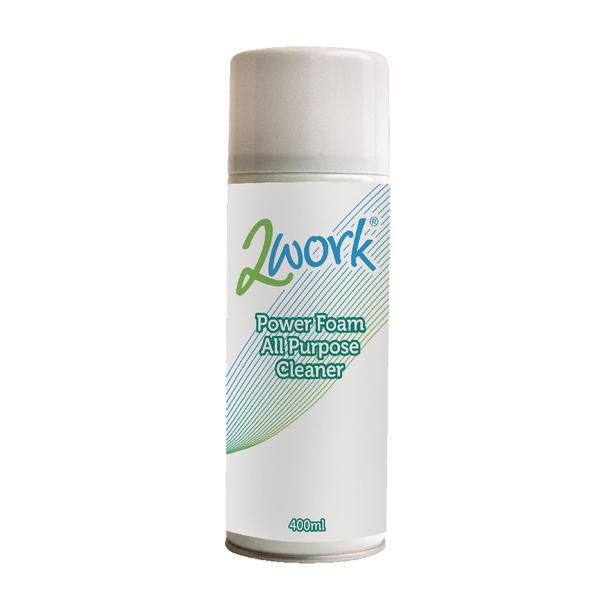 2Work Power Foam All Purpose Cleaner 400ml