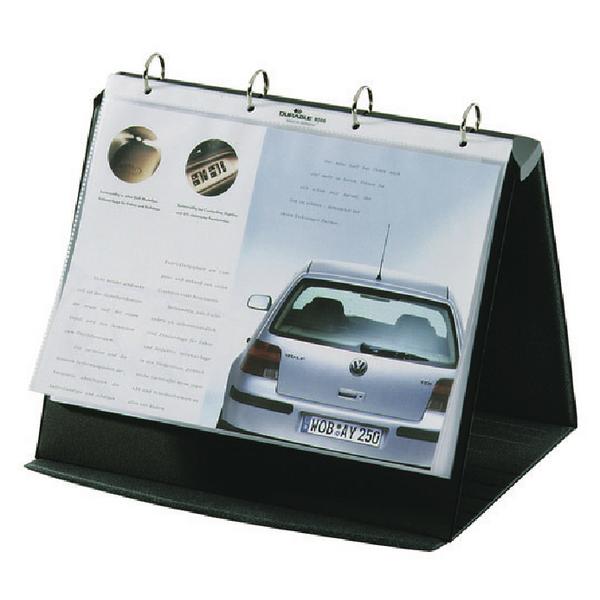 Durable Durastar A4 Landscape Table Top Presenter 8567/39