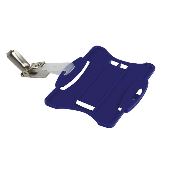 Durable Blue Security Pass Holder (25 Pack) 8118/06