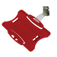 Durable Red Security Pass Holder (25 Pack) 8118/03