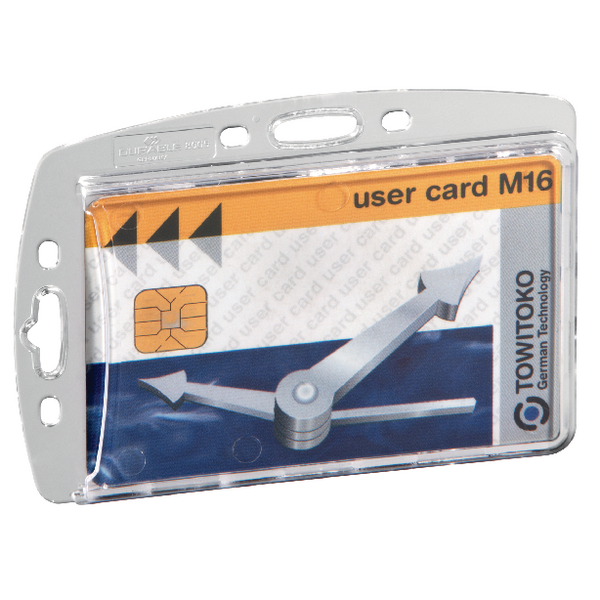 Durable Enclosed Proximity Card Holder (Pack of 50) 999108012