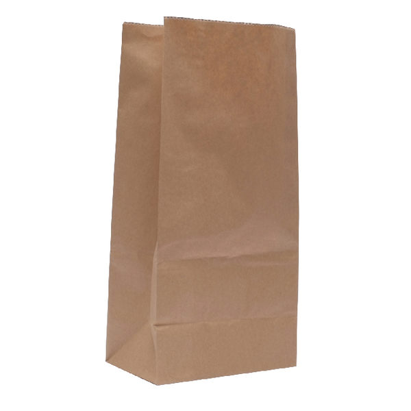 Brown W250xD150xH305mm 3.25kg Paper Bags (Pack of 500) 302165