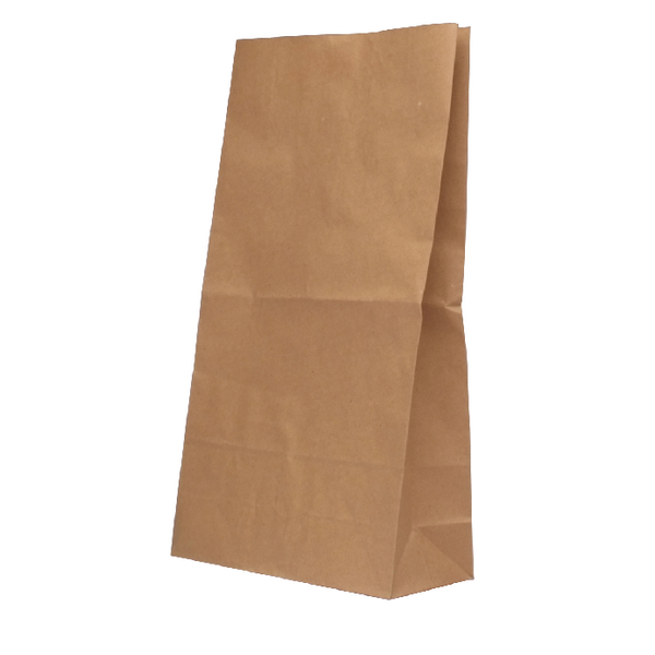 Brown W305xD215xH387mm 6.5kg Paper Bags (Pack of 125) 302168