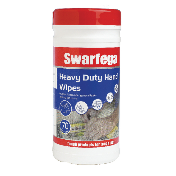 Deb Swarfega Heavy Duty Hand Wipes (Pack of 420) SWHD70W