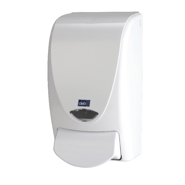Deb Stoko White Proline 1000 Soap Dispenser WHB1LDS