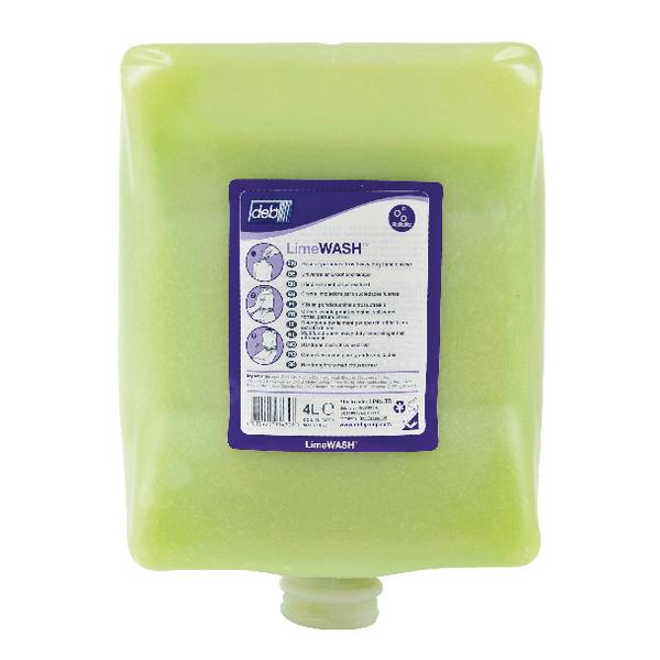 Deb Solopol Lime Wash 4 Ltr Cart LIM4LTR