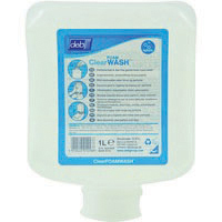 Deb Clear Foam 1 Litre Hand Wash with Free Dispenser (Pack of 6)