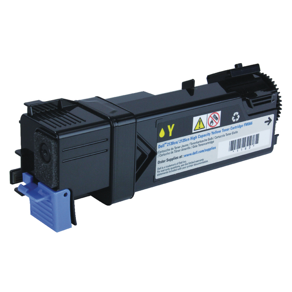 Dell Yellow Toner Cartridge High Capacity 593-10314