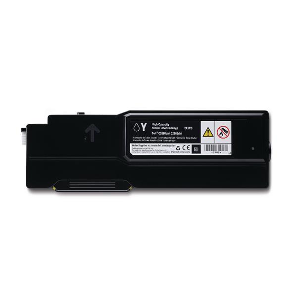Dell Yellow 593-BBBR Toner Cartridge