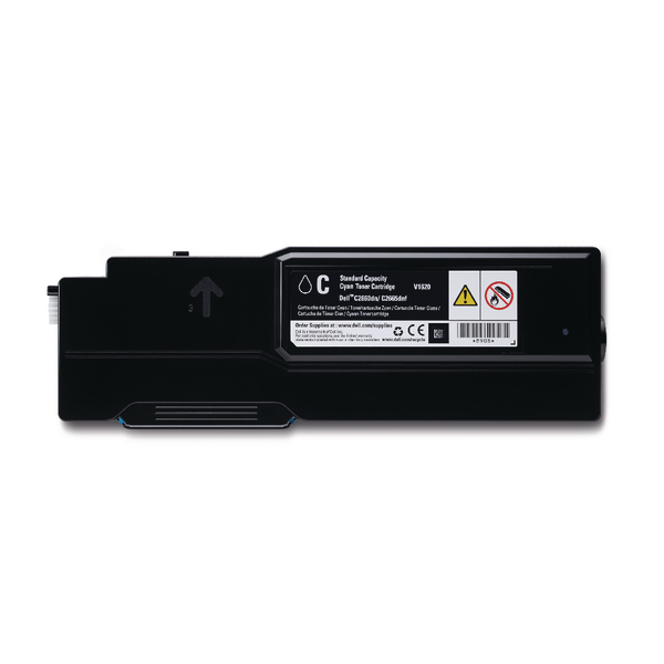 Dell Cyan 593-BBBN Toner Cartridge