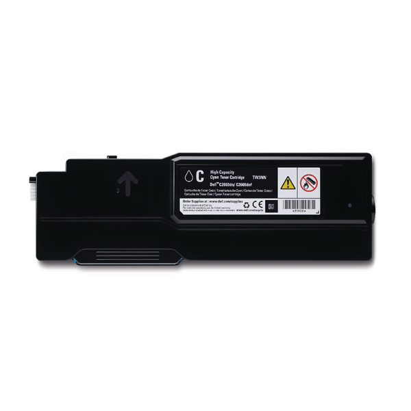 Dell Cyan High Capacity Toner Cartridge 593-BBBT