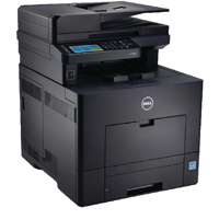 Dell Black C2665dnf A4 Colour Multifunctional Laser Printer (Pack of 1) 210-ABWL