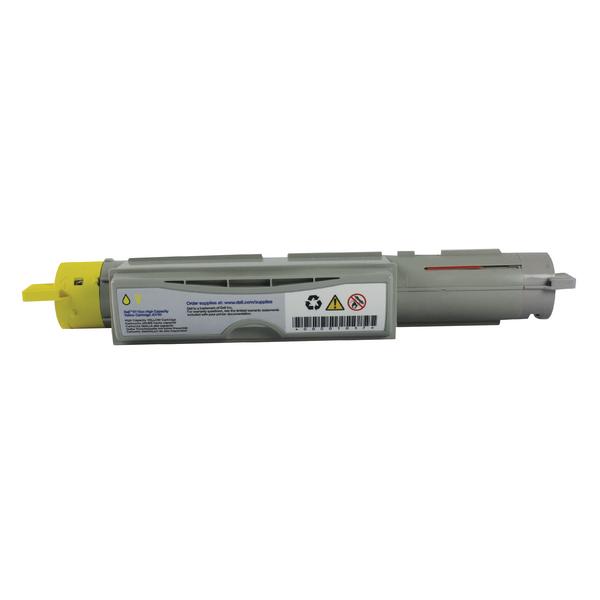 Dell Yellow Toner Cartridge High Capacity 593-10123