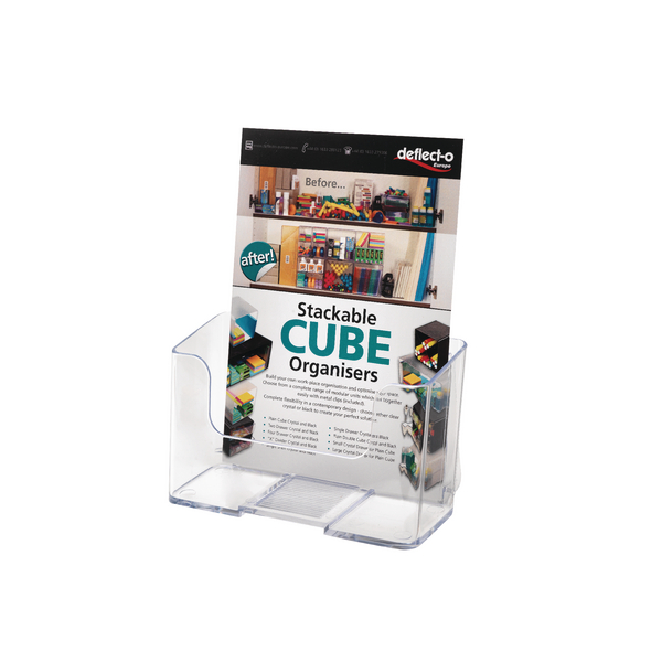 Deflecto A5 Clear Literature Holder 74901