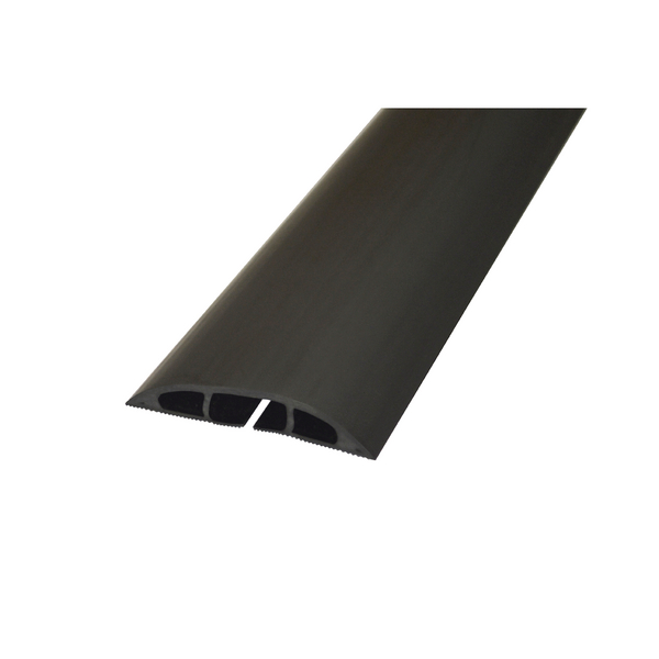 Image for D-Line Black Light Duty Floor Cable Cover 60mmx1.8m Long CC-1