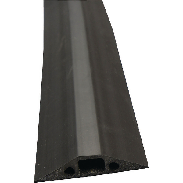 D-Line Black Floor Cable Cover 14x8mm (Pack of 1) FC68B