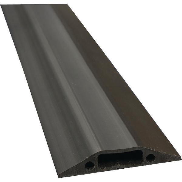 D-Line Black Medium Duty Floor Cable Cover 9m Long 83mm Wide FC83B/9M