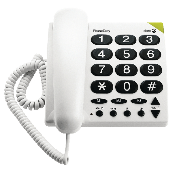 Image for Doro Big Button Telephone White 311C