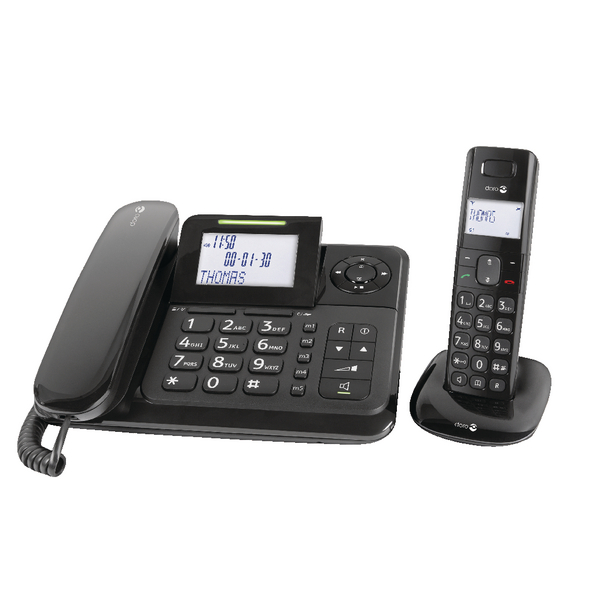 Doro Comfort 4005 Desk and Cordless Phone COMFORT 4005