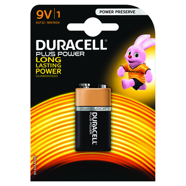 Duracell Plus 9V Battery 81275454
